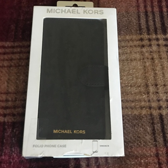 Michael Kors cell phone case -Samsung S8